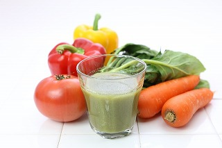 グリーンスムージーと野菜